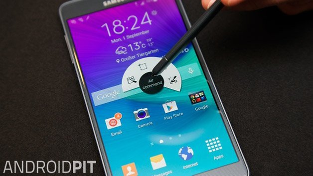 samsung galaxy note 4 s ручка air command