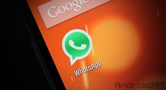 значок WhatsApp на главном экране