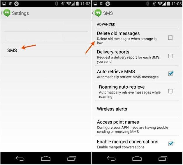 androidpit Hangouts удалить сообщения 2