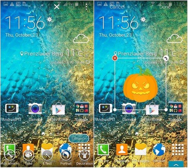 AndroidPit Galaxy Alpha скриншот 2