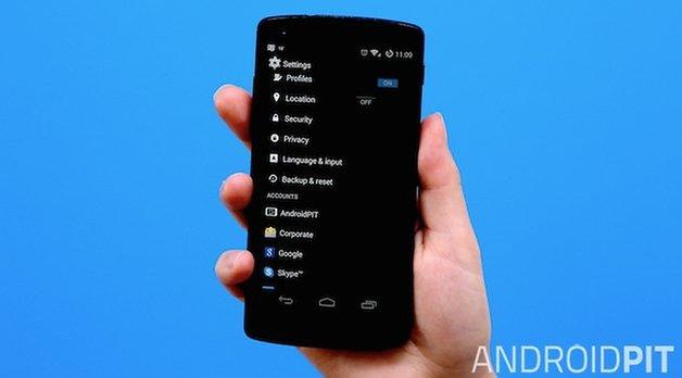 AndroidPit Nexus 5 сбросить тизер