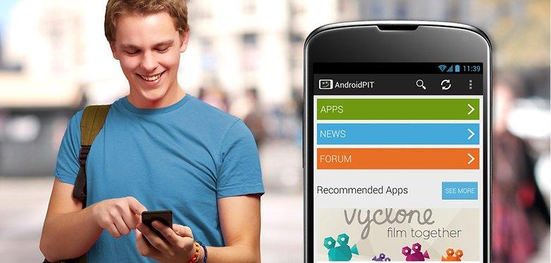 тизер нового приложения androidpit com