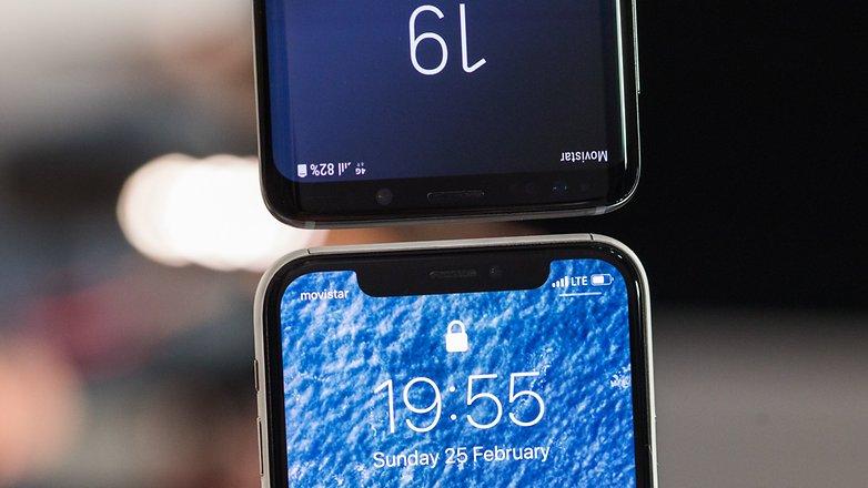 AndroidPIT samsung galaxy s9 против iphone x 7400