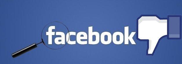 фейсбук поиск не нравится