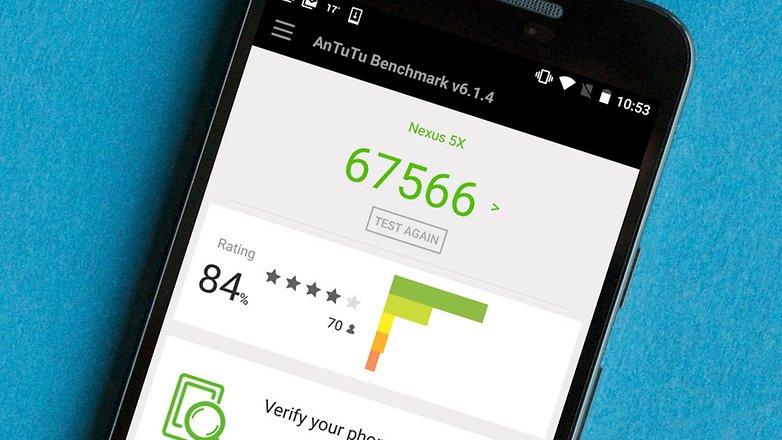 Тест AndroidPIT AnTuTu nexus 5x