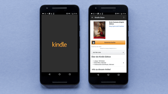 AndroidPIT kindle app