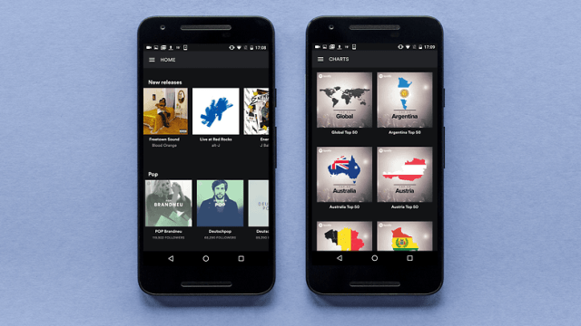 AndroidPIT spotify app