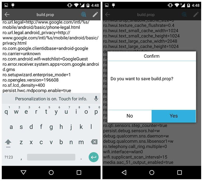 Значение сохранения системы AndroidPIT ES File Explorer