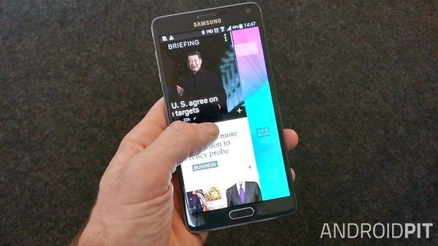 AndroidPIT Galaxy Note 4 Flipboard тизер