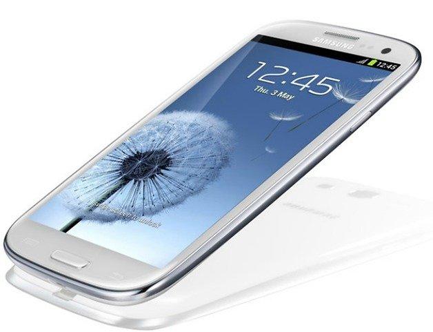 AndroidPIT Galaxy S3 сбоку