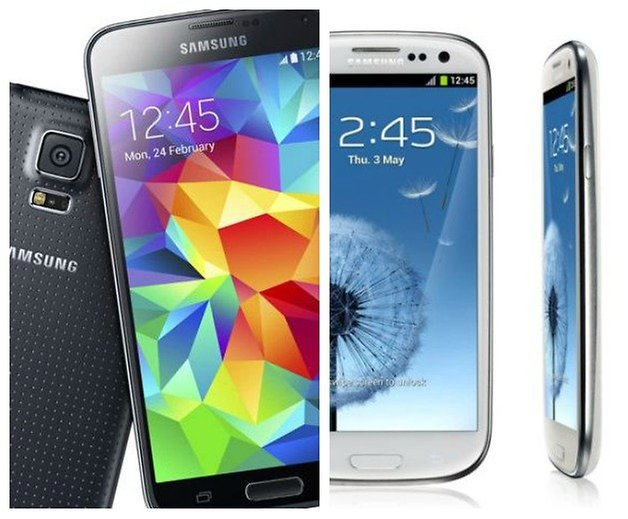 AndroidPIT Galaxy S5 S3 Тизер