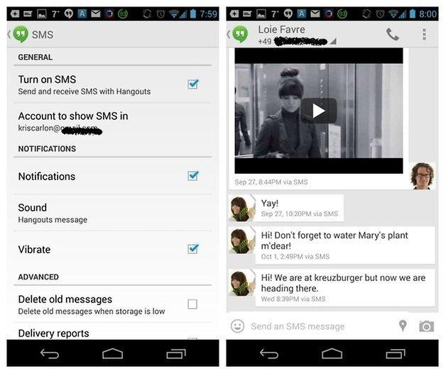 AndroidPIT Hangouts, версия 2 3
