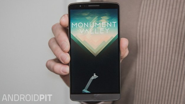 AndroidPIT Долина монументов LG G3