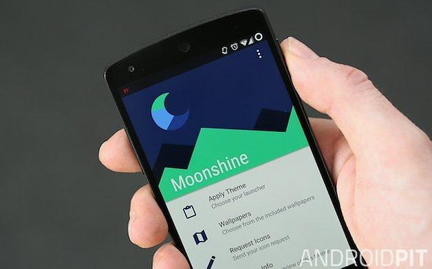 Приложение AndroidPIT Moonshine