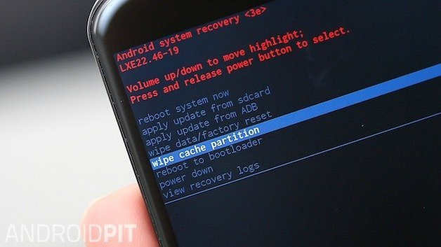 AndroidPIT Moto X 2014 очистить кеш