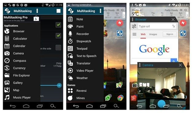 AndroidPIT Многозадачность
