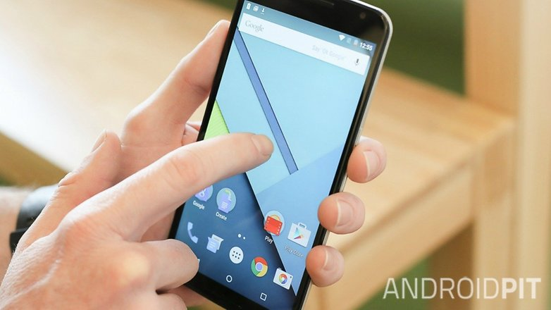 AndroidPIT Nexus 6 Android 5 1 Lollipop двойным нажатием, чтобы разбудить