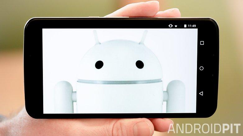 AndroidPIT Nexus 6 чистый белый android