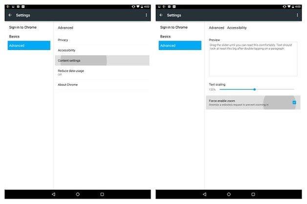 AndroidPIT Nexus 9 советы хром
