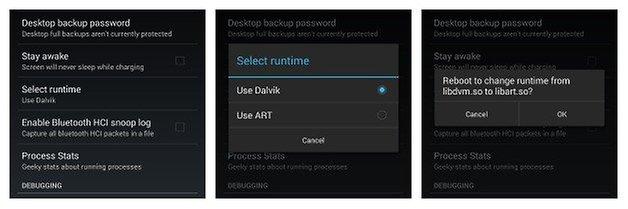 AndroidPIT Nexus4 ART