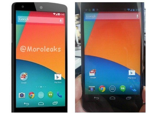 AndroidPIT Nexus5 Look Front