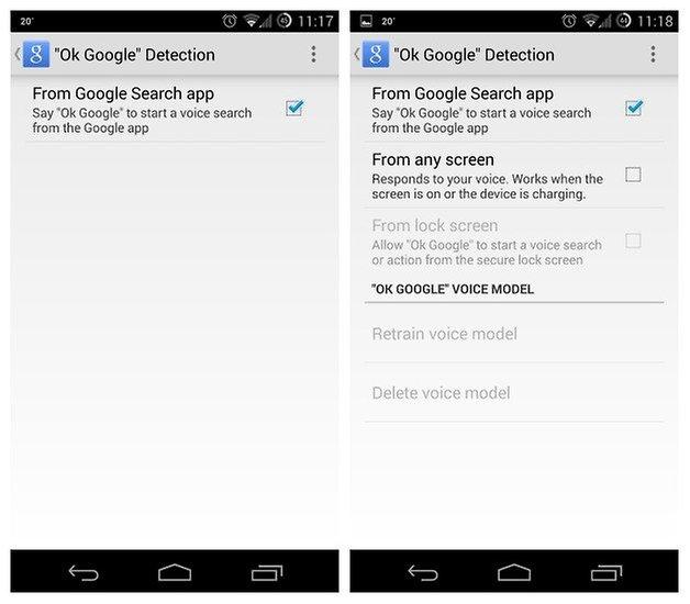 AndroidPIT Окей, Google Detection