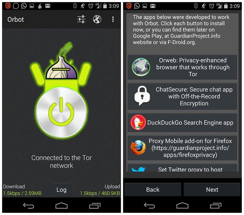 AndroidPIT связывает сеть Tor