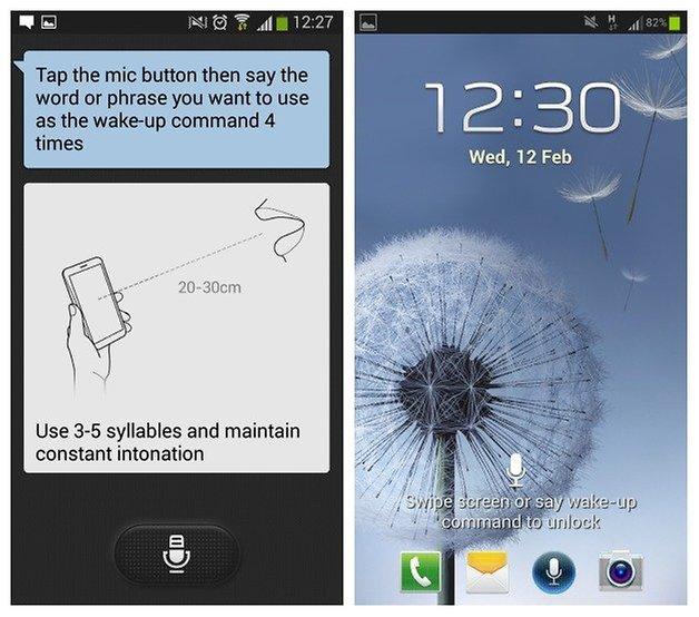 Голосовые команды AndroidPIT S3 3