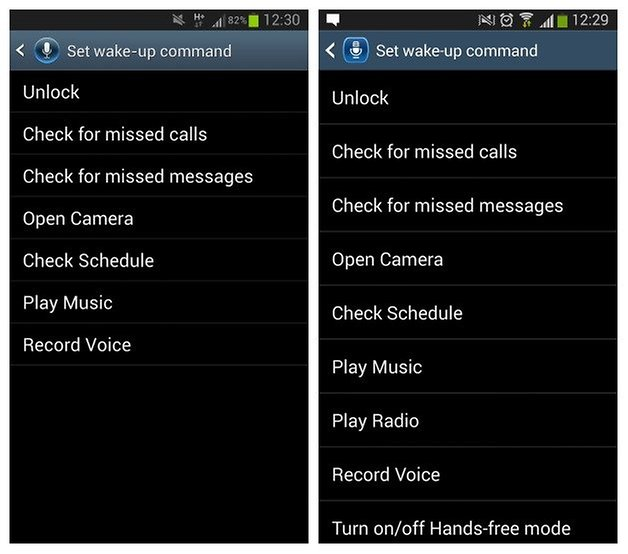 Голосовые команды AndroidPIT S3 4