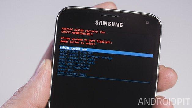AndroidPIT: система перезагрузки Samsung Galaxy S5