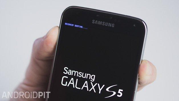 AndroidPIT Samsung Galaxy S5 recovery перезагрузка