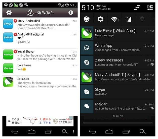 AndroidPIT Шиноби 1