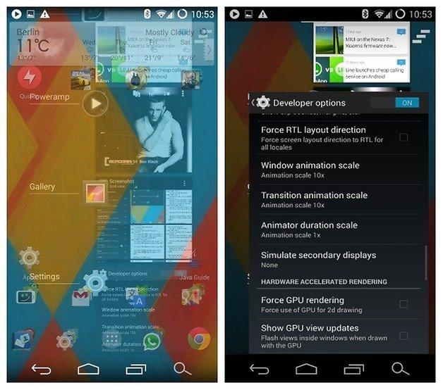 Эффект перехода AndroidPIT