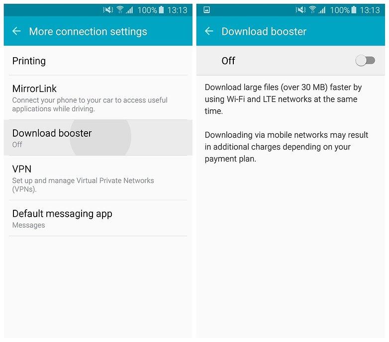 Ускоритель загрузок AndroidPIT Galaxy S6 TouchWiz