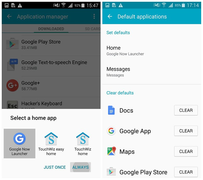 AndroidPIT Galaxy S5 лаунчер Google Now