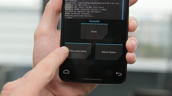 Программы и тесты программ для Android Nexus 6 TWRP