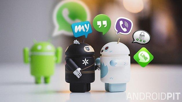 WhatsApp против других