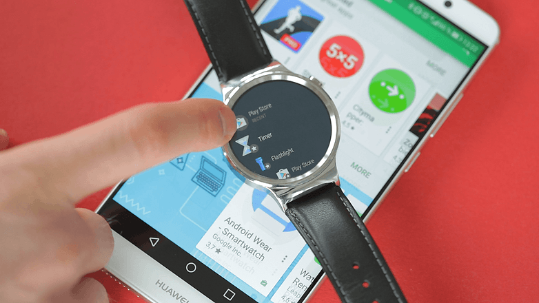 AndroidPIT магазин Android Wear 2 Play