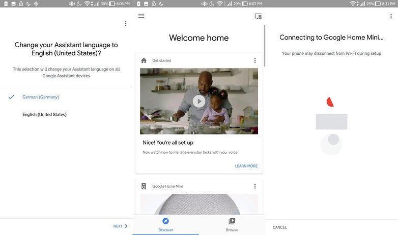 google home mini setup 3
