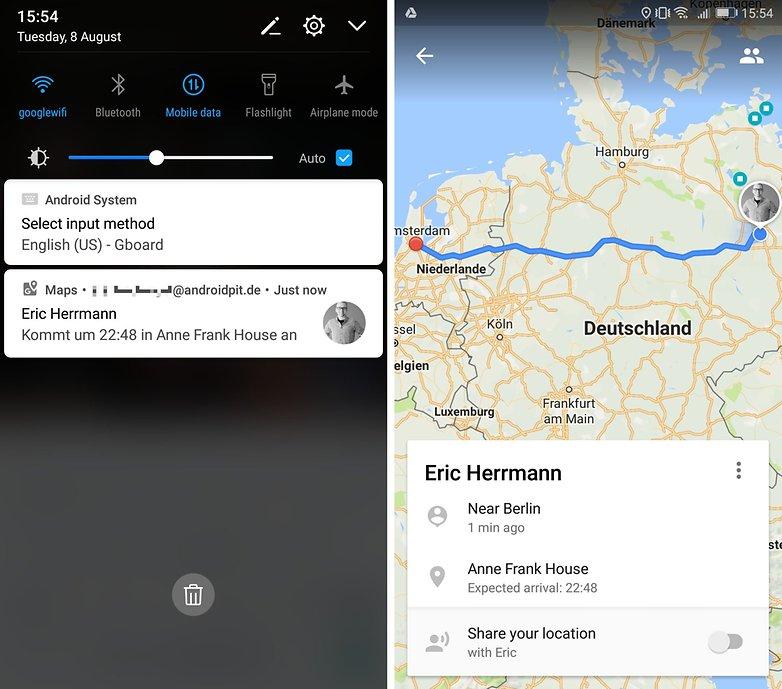 карты Google видеть прогресс