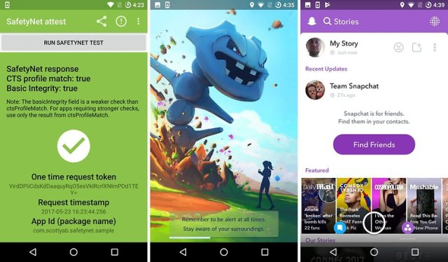 safetynet pokemon go snapchat open w782 How to use locked apps on a rooted phone