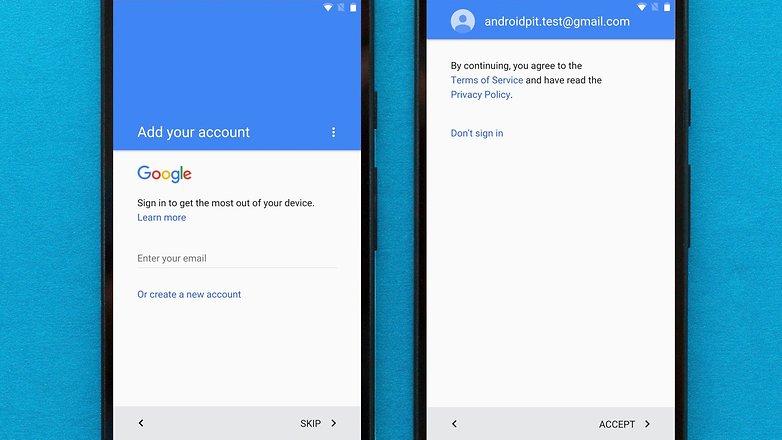 экран настройки androidpit 4