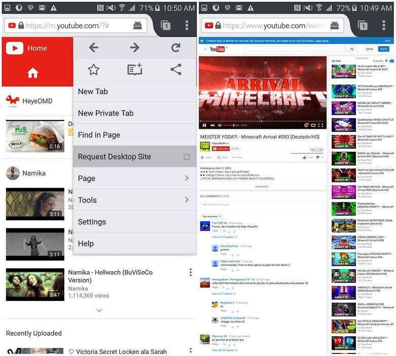 androidpit сайт запроса youtube