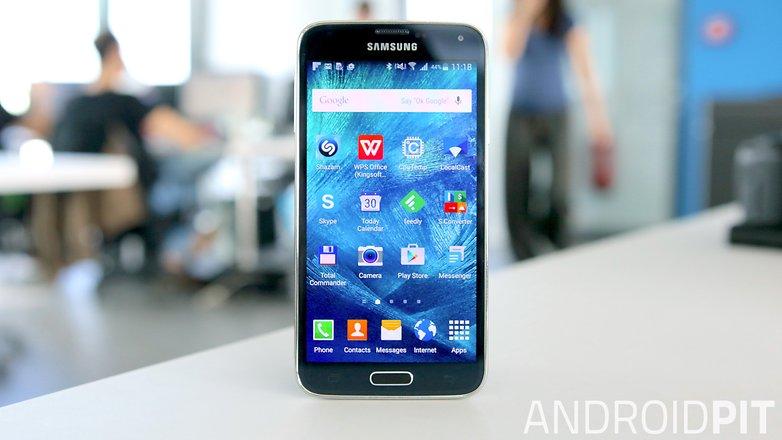 samsung galaxy s5 передний экран
