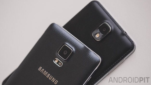 Androidpit Galaxy Note 4 против Galaxy Note 3 10
