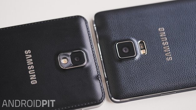 Androidpit Galaxy Note 4 против Galaxy Note 3 4
