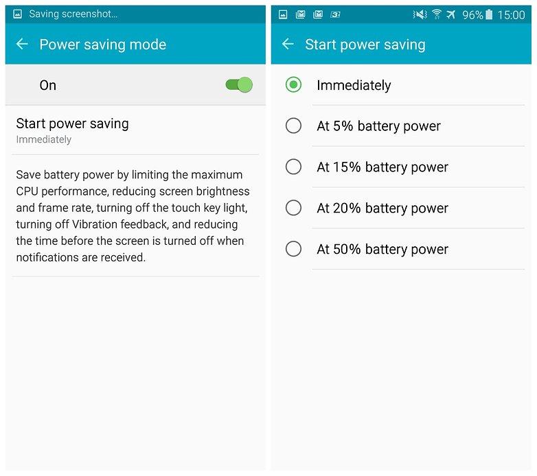 androidpit samsung galaxy s6 edge энергосбережение