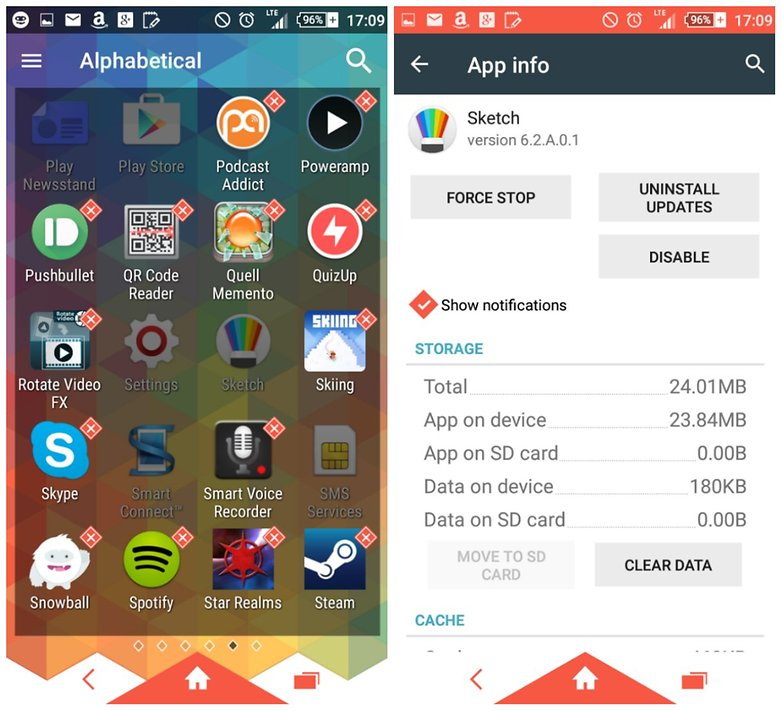 удалить приложение androidpit bloatware
