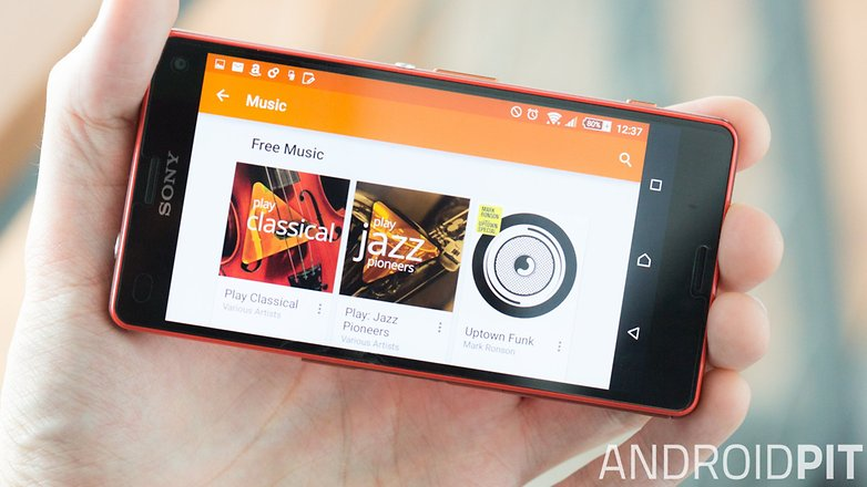 androidpit google play music sony xperia z3 compact