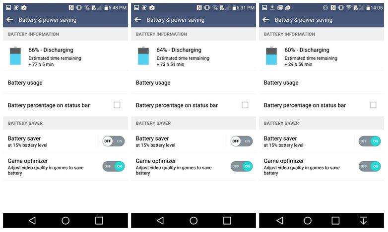 androidpit lg g4 настройки батареи